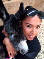 Baby Donkey Myka and Jessica