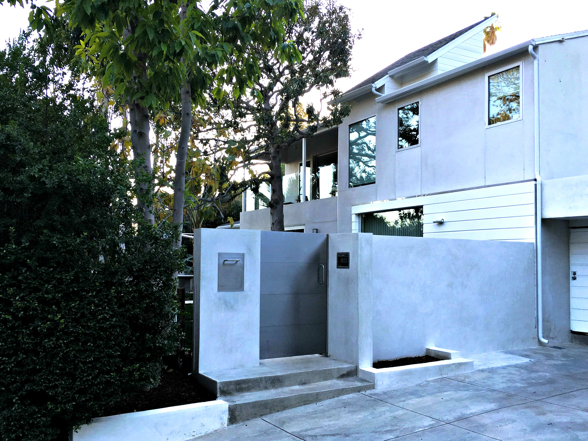 Sterling Stainless Steel Gate Mulholland Security and Pomer Construction